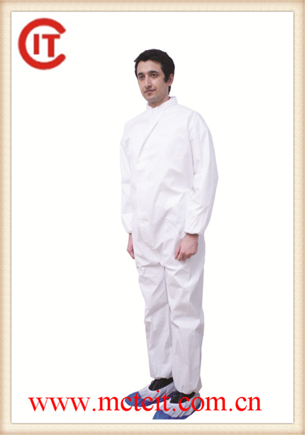 Professional Disposable microporous Coverall with CE certificate