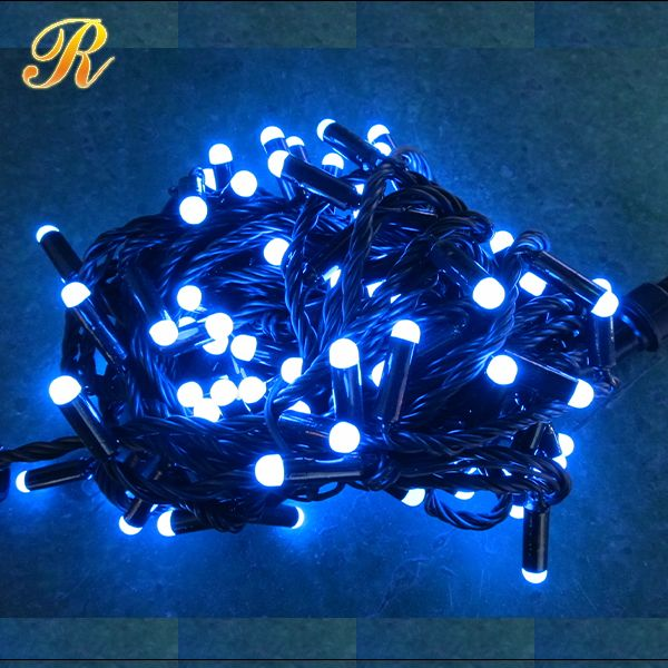 Transparent PVC wire indoor led Christmas lights
