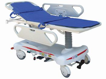 AG-HS008 Simple two ABS handrails injuired people ambulance delivery used transfer stretcher patient