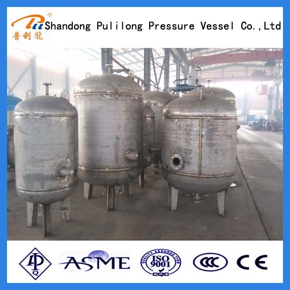 ASME U stamp water to thermal oil heat exchanger