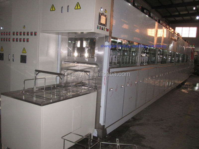 Automatic Ultrasonic Cleaning Machine for Optical Moulds and Lens