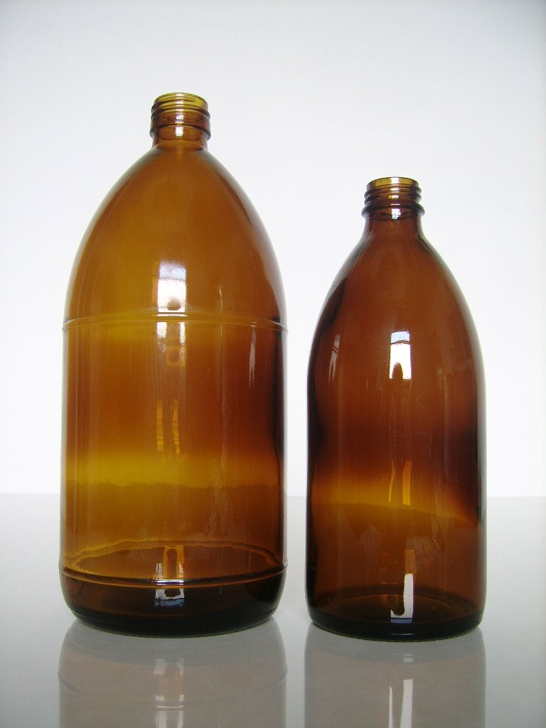 32OZ glass drug bottles