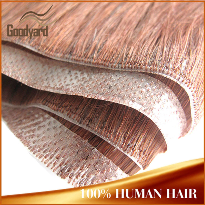 Wholesale Virgin Remy Human Hair Skin Weft Pu Glue Virgin Tape Hair