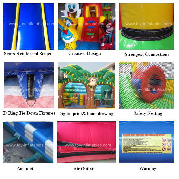 High quality special inflatable water slide rental