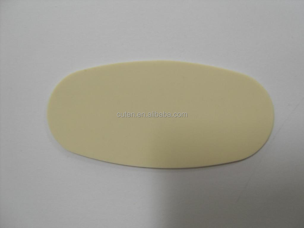 clear 3M self adhesive backed silicone rubber pad