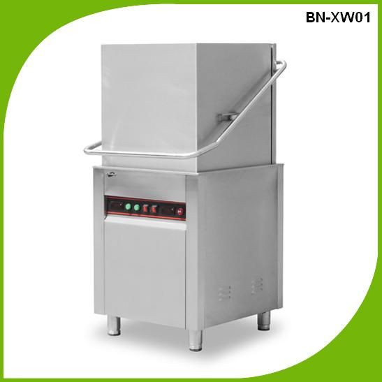 BN-XWS02 Guangdong conveyor commercial Easy Dish Washing Machine For Hotel & Restaurant