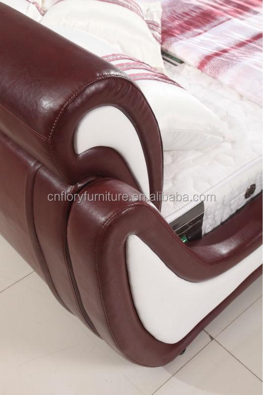가죽 침대 디자인 침실 가구 라텍스 매트리스 - Buy Product on Alibaba.com