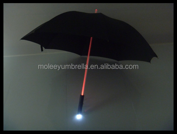 Popular Barato Por Atacado LED Guarda-chuva com Tocha do Punho