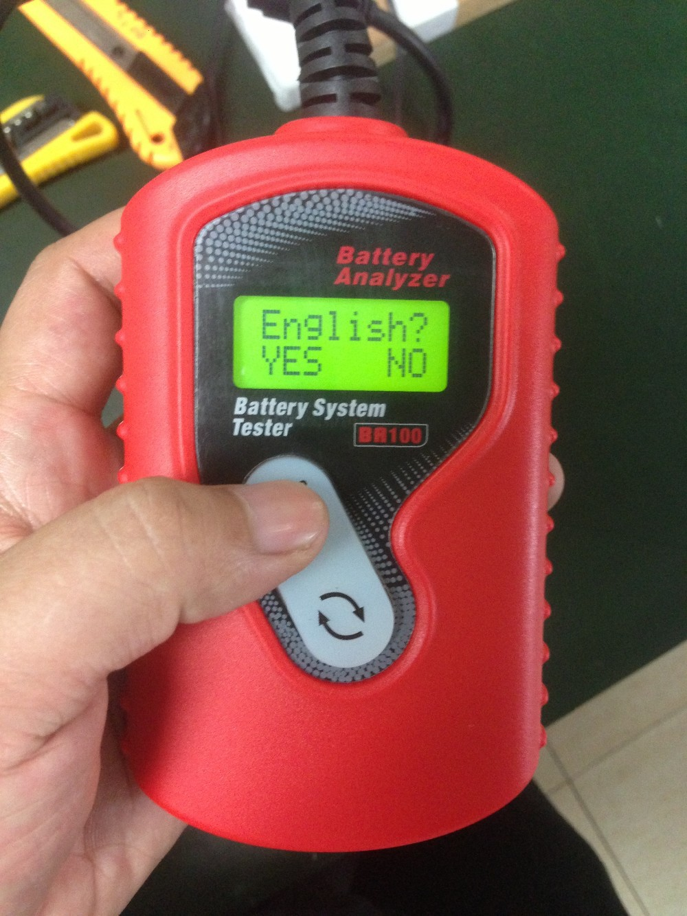 Hottest!!! 12V car battery tester/battery capacity tester for all 12V battery