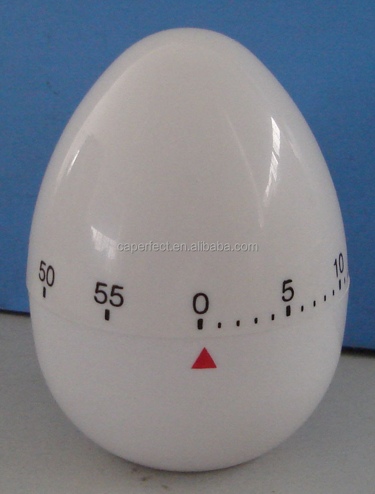 China supplier egg shape mechanical kitchen timer