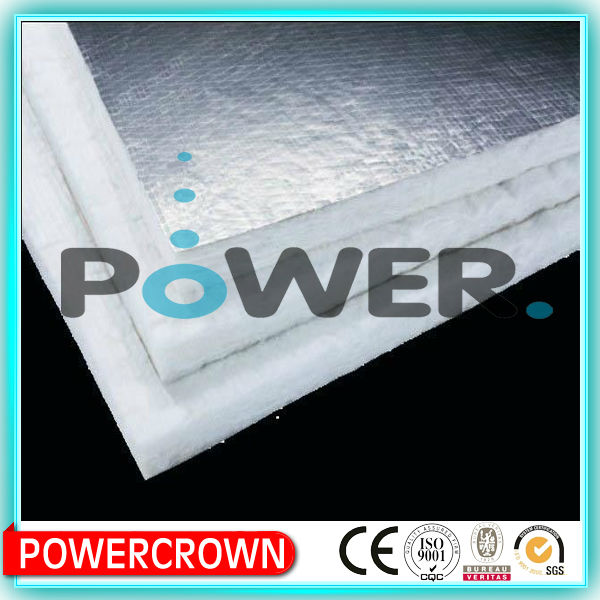 Excellent waterprooof glass wool pipe insulation with aluminium foil