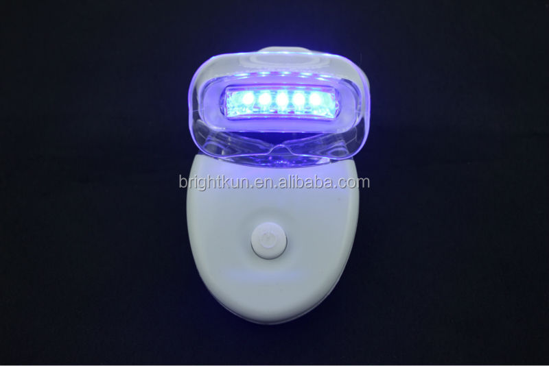 Best selling tooth whitening blue mini led lamp ,5pcs led bulb with FDA approved