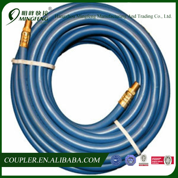 Manual PU Press High Pressure Hydraulic Hose with Fittings