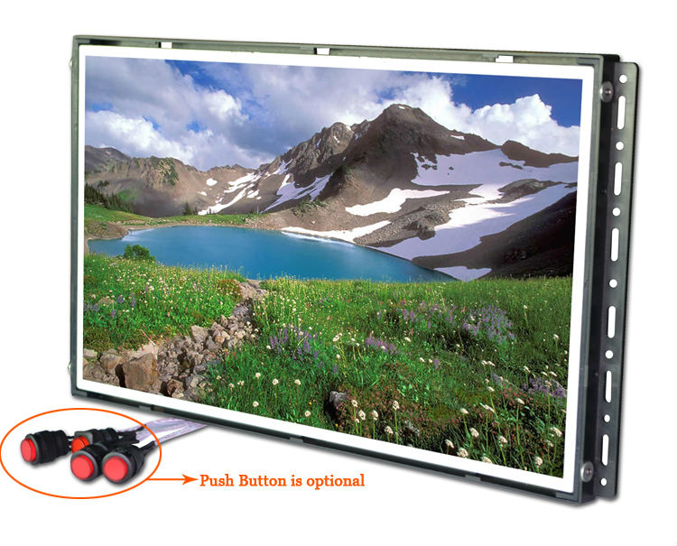 Open Framed 15 inch H-D-M-I Led Monitor Price with lcd touch screen