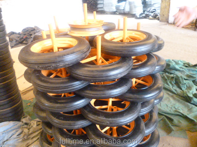 "14"" Barrow/Trolley Pneumatic Rubber Wheel 14""x3.50-8,4.00-8 Diamond Pattern"