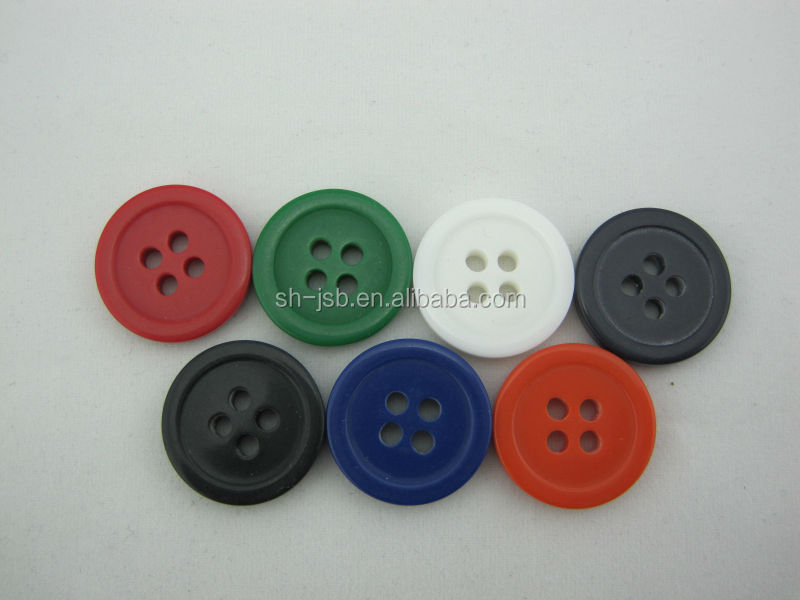 4 hole plastic button for garments clothing