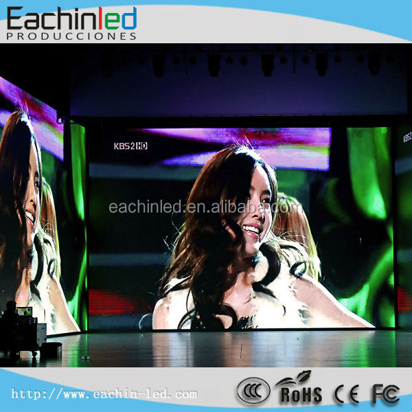 Alibaba Express Hot Products Full Color High Resolution Lightweight Background Indoor 5mm LED Video Wall