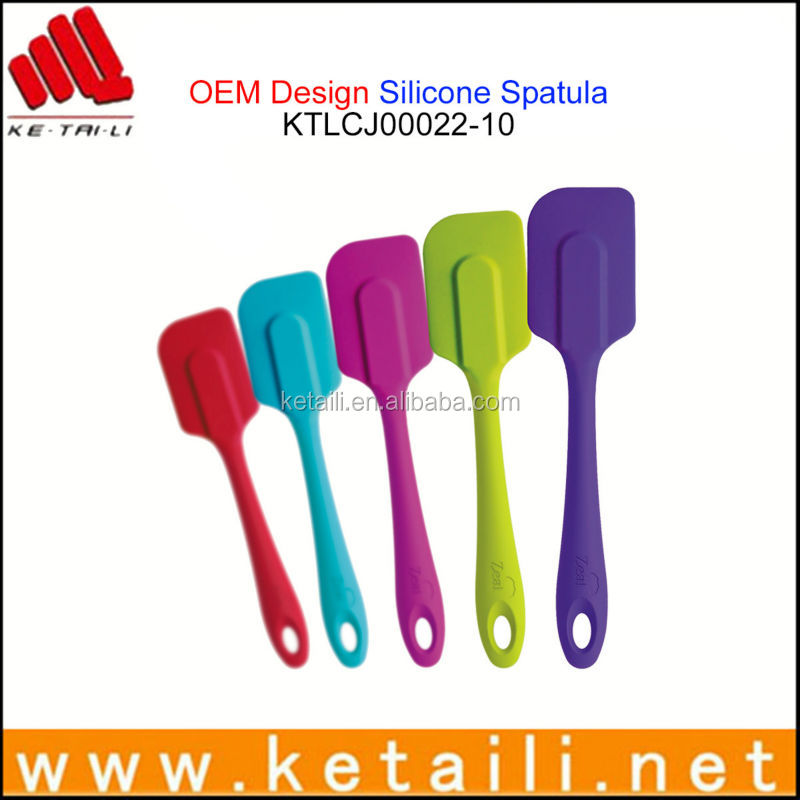 Christmas Gift Good Cook Best Quality Silicone Spatula Set, personalized silicone spatula supplier