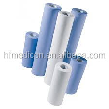 Disposable paper examination bed sheet roll