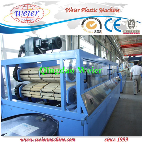 Wood Plastic Composite PVC WPC Hollow Board Extrusion Machine
