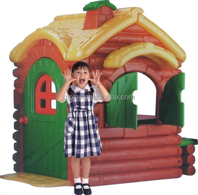 Plastic Indoor Or Outdoor Playhouse, Kids Play House