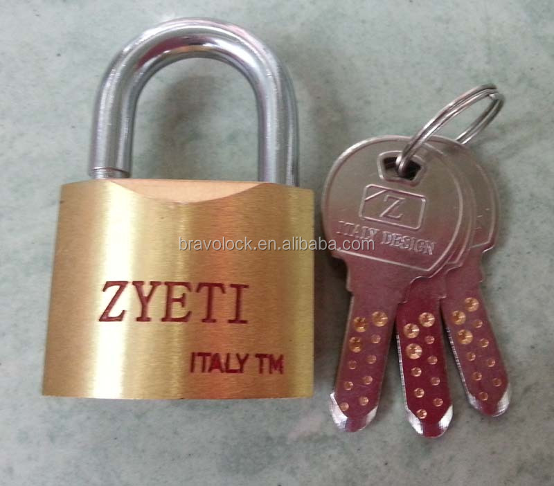 Security Brass Padlock with Computer Key Best Padlock