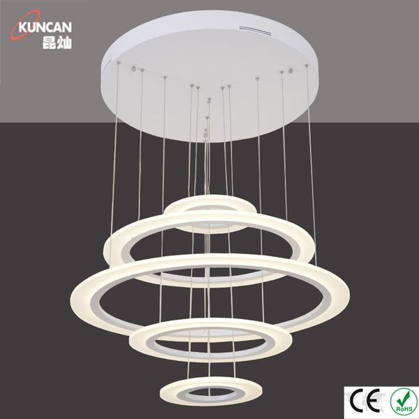 Cercle grande led lustre lumi re pour hall de l 39 h tel lustre id de produit 1854743958 french - Lampe cercle led ...
