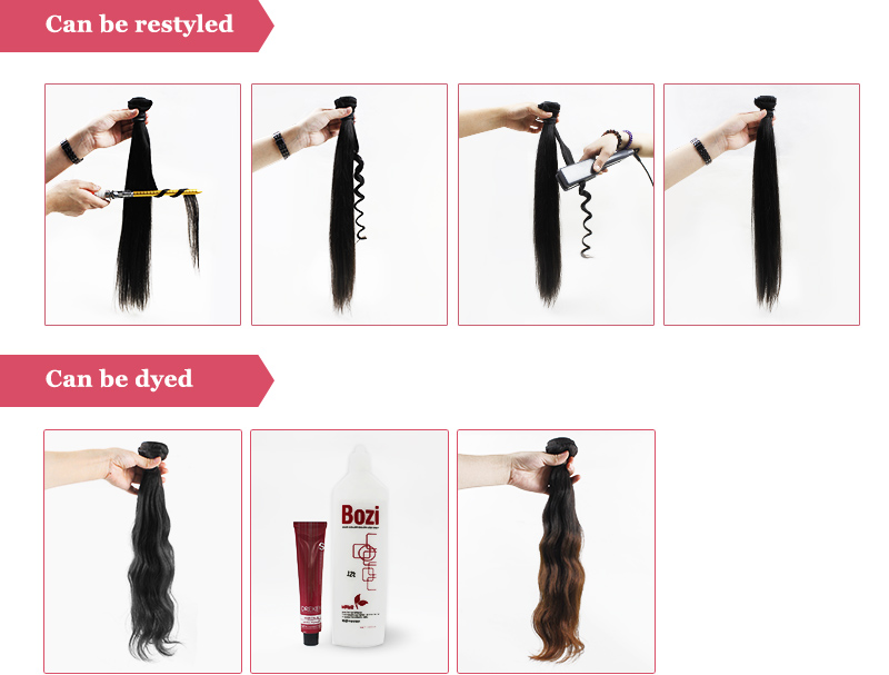 100% virgin remy unprocessed loose deep wave human hair weave