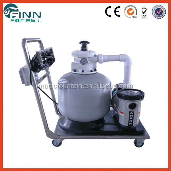 High Quality Large Pool Filters Pipeless Integrative Swimming Pool Filtration Swimming Pool