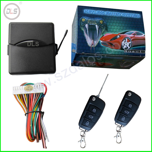 Octopus one way car alarm keyless entry system/ RFID Remote key Milano/MFK keyless entry system