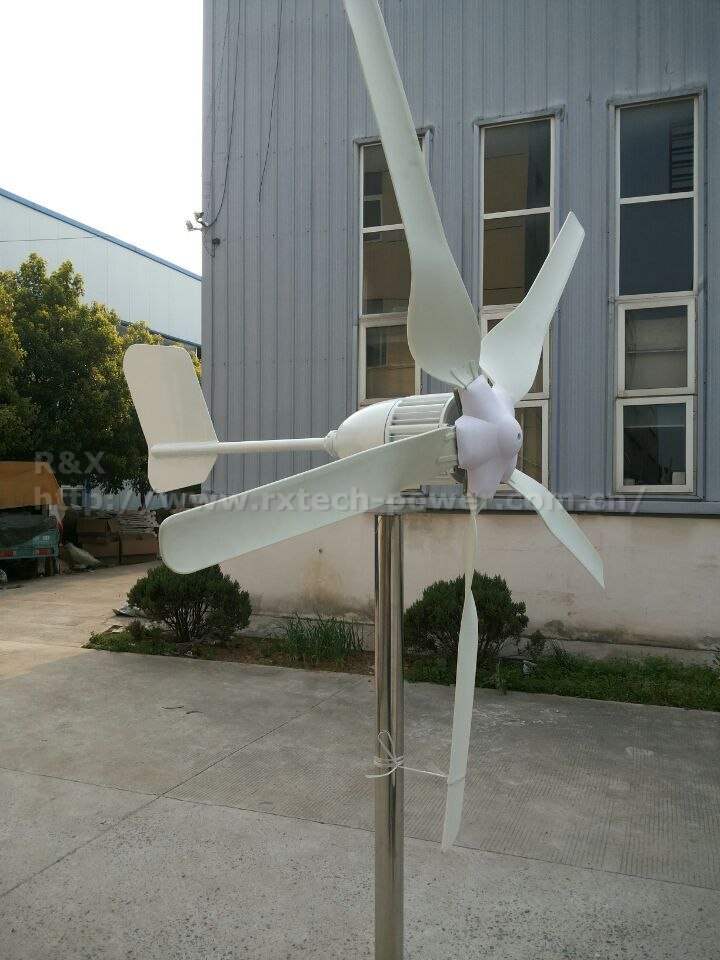 2kw permanent magnet wind turbine generator 24V/48V/96V for land and boat, CE certification horizontal wind power generation