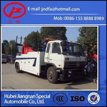 DONGFENG 4X2 15T 6Wheels Jiang special road Wrecker towing truck JDF5160TQZG