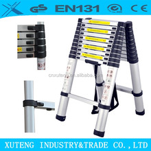 automatic electric collapsible step stool telescopic loft ladder decorative bamboo ladder