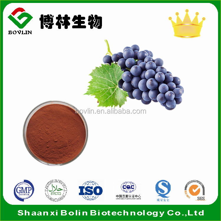 Factory Supply Pure Proantocyanidins,Grape Seed Extract Proanto Cyanidins