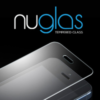 Nuglas Clear Tempered Screen Protector/Guard/Ward For Apple Iphone 5/5S