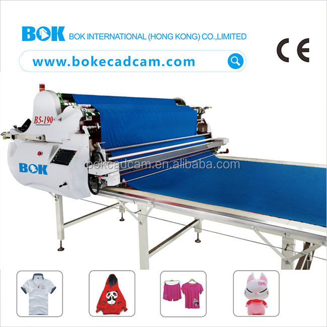 Garment equipment fabric spreading machine for non woven with air floating table
