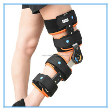Medical knee protector/postoperative knee support/orthopedic ROM Hinge