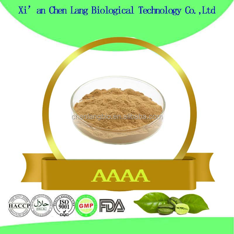 Herbal Plant Good Functions Green Coffee Bean Extract Powder