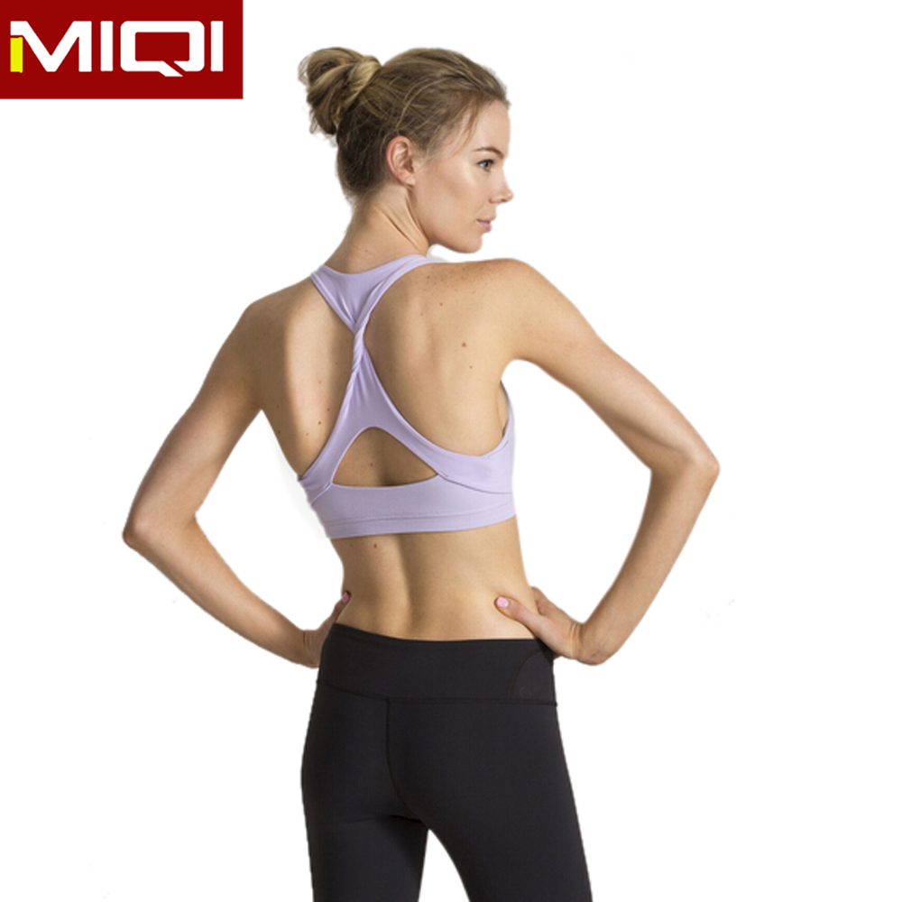 Girls cool yoga gear made in China with great SUPPLEX lycra fabric fitness yoga wear women sports bra