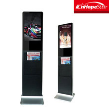 22 Inch Lcd Advertising Display Android Touch Screen Kiosk Floor Stand Digital Signage Player