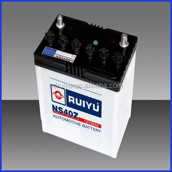 Lead Acid 12V36AH Dry Charged Automotive/Car Battery-NS40Z