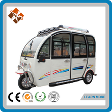 three wheel tuc tuc motor tricycle closed cabin transportation tricycle