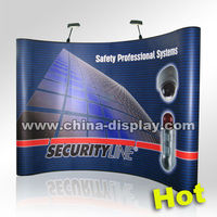 Advertising Magnetic Pop Up Banner Display Trade Show Related Equipment