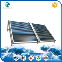 2016 sun energy evacuated tube solar collector for export