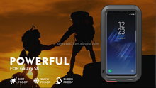 Original Love Mei For Galaxy S8 Shockproof Waterproof Rugged Gorilla Metal case For Galaxy S7 EDGE POWERFUL TAKTIK