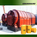 Great efficiency used Rubber pyrolysis plant with life warranty