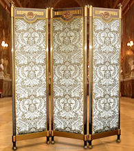 AAS810-Classic Luxury And Decorative Folding Screens /accordion Living Room Partition Wall/ folding screen room