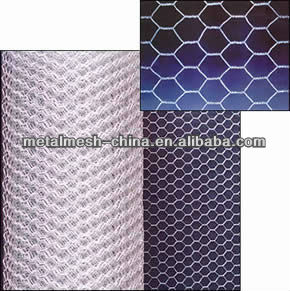 Galvanized chicken wire mesh(hexagonal mesh) for breeding animals from direct factory