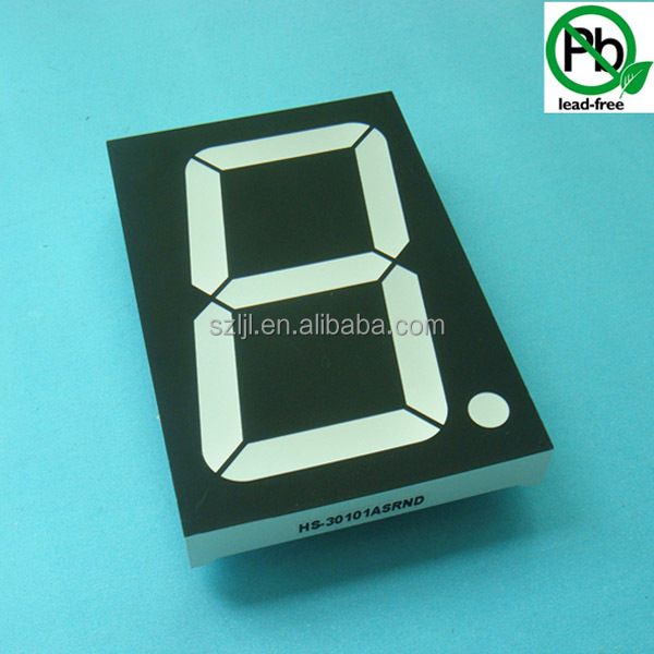 3 inch 7 Segment LED Display Large Size 1 digit
