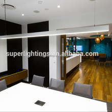 Commercial indoor suspended led linear pendant light